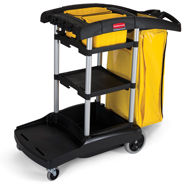 JANITORIAL CARTS & DOLLIES